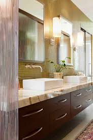 bathroom mosaic tile wall and bathroom vanity lights also