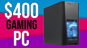 Updated 400 Gaming Pc 2017 Parts List Youtube