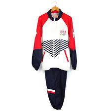 Halloween Usa Kalamazoo Mi Usa Olympic Tracksuit Track Field Jogging Sports Halloween Costume
