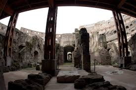 rome u0027s colosseum unveils its underworld history in the headlines