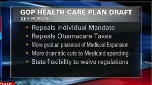 senate gop unveils health care bill video economy