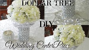 wedding center pieces diy dollar tree bling floral wedding centerpiece 2017