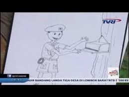 cara membuat poster untuk anak sd titorial belajar menggambar untuk anak cara menggambar pramuka