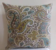 Paisley Home Decor Paisley Sofa Pillows Pillow Decoration