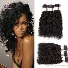 curly black bohemian hair beautiful afro kinky curly hair for africa woman 3 bundles indian