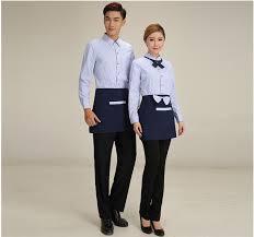 uniforme femme de chambre hotel hôtel uniforme d été femme et homme de ménage vêtements à manches