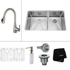 Double Sinks Kitchen by 42 Kitchen Sinks Kitchen The Home Depot