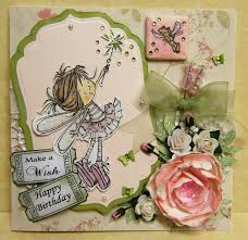 the two pink ladies fairy birthday card
