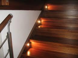 led treppe treppenbeleuchtung mit einbauleuchten hausbau ein baublog