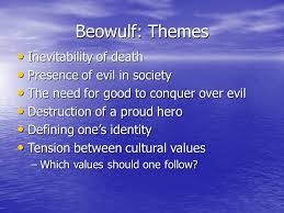 themes of beowulf poem beowulf background about 3rd and 4th century geats and danes ppt