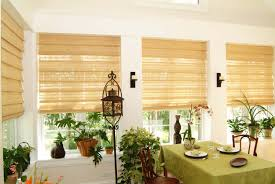 interior design white wall with window and bali blinds plus