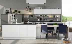 kitchen cabinets white lacquer modern white and gray matte lacquer kitchen cabinet op16 l18