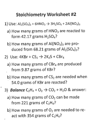 Stoichiometry Problems Worksheet Assignments Notes And Chem Catalysts Mr Coe U0027s Science Class