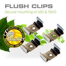 light mounting clips led t5ho strip light accessories sunblaster lighting
