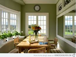 Green Dining Room 15 Pretty Green Accentuated Dining Room Designs Home Design Lover