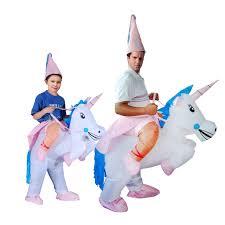 Halloween Costume Unicorn Aliexpress Buy Inflatable Halloween Costume Unicorn Onesie