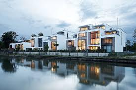 behnisch architekten loft houses kolbermoor
