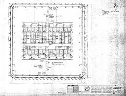 Blueprints by World Trade Center North Tower Blueprints Public Intelligence