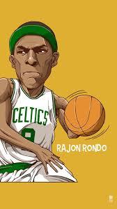 rajon rondo tap to see collection of famous nba basketball