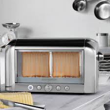 Magimix Clear Toaster Vision Toaster Chrome Magimix By Robot Coupe Touch Of Modern