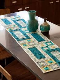 modern table runner design the holland how to make a mirror of
