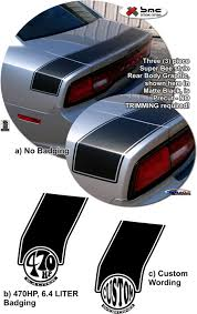 dodge charger graphics dodge charger superbee style rear graphics kit 2011 2014 atd