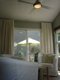 Sliding Patio Door Curtains Hate Hate Hate Vertical Blinds Love Curtains Over The Sliding
