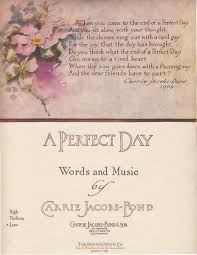 a perfect day song wikipedia