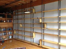 bookcase simple storage design with metal and wood bookcase