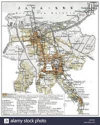 Map Of Jakarta Historical Map 1894 Batavia Dutch East Indies Now Jakarta