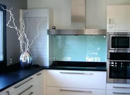 credence en verre cuisine credence en verre pour cuisine mural 4 5 types mee definition