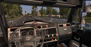 kenworth truck parts kenworth w900 rusted skin matching interior ats euro truck