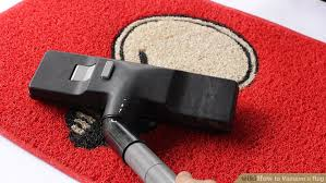 How To Clean A Long Shaggy Rug 4 Ways To Vacuum A Rug Wikihow