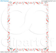 retro martini drawing stationery background of with a border of confetti and martinis