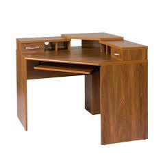 Corner Desk Corner Desk With Monitor Platform Keyboard Shelf And 2 Drawers
