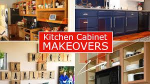 kitchen cabinet makeover ideas 12 kitchen cabinet makeover ideas simphome