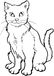 cat color pages printable cat kitten printable coloring pages dog
