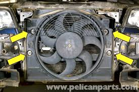 bmw e46 cooling fan replacement bmw 325i 2001 2005 bmw 325xi