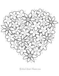 coloring pages of heart 122 best coloriage coeur colouring heart images on pinterest