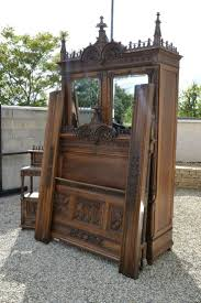 1316 best gothic images on pinterest gothic antique furniture walnut gothic bedroom set