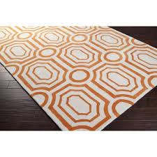 Orange Modern Rug by Hudson Deco Orange Modern Area Rugs U2013 Sky Iris