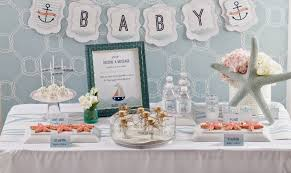 Nautical Baby Shower Centerpieces by Baby On Board Nautical Baby Shower Play Party Plan
