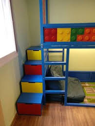 Bunk Bed With Storage Stairs Ikea Kura Bed Hack Trofast Stairs Bunk Bed Diy Projects
