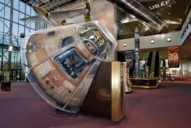 Resting Space 11 Command Module Columbia