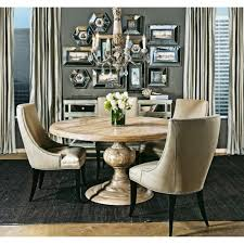 light wood round dining table adore a round light wash solid wood dining set add slip covered
