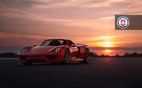 red porsche 918 photoshoot red porsche 918 on hre wheels sssupersports com