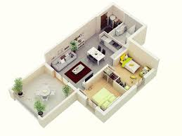 Apartment Designs And Floor Plans by 25 More 2 Bedroom 3d Floor Plans