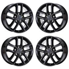 jeep wheels and tires chrome 18