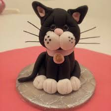 cat cake topper cat cake topper cake toppers fondant marsepein en