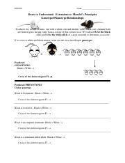 pedigree worksheet answer key bsci 222 shields fall 2010